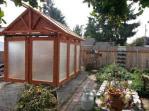 Greenhouse from Manufacturing Waste