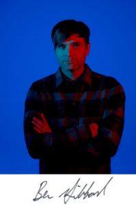 Photo of Ben Gibbard by Eliot Lee Hazel